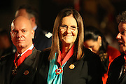Ouro Preto_MG, Brasil.<br /> <br /> Maria das Gracas Silva Foster, presidente da Petrobras, recebe a Medalha da Inconfidencia, a cerimonia aconteceu em Ouro Preto, Minas Gerais.<br /> <br /> Maria das Gracas Silva Foster, Presidente da Petrobras, receives the Medal of Inconfidencia, the ceremony happened in Ouro Preto, Minas Gerais.<br /> <br /> Foto: RODRIGO LIMA / NITRO