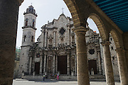 Colonial church in Old Havana, Cuba, on Sunday June 29, 2008.