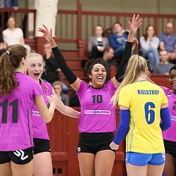2019-04-02: Elite Volley Aarhus - Brøndby VK - Semifinale - Volleyligaen