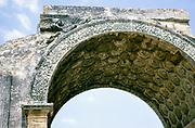 Roman commemorative arch at St-Remy-de-Provence, France 1975