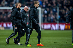 25-02-2017 NED: Feyenoord - PSV, Rotterdam<br /> 24e speelronde van seizoen 2016-2017, De Kuip / Dirk Kuyt #7, Jan Wouters