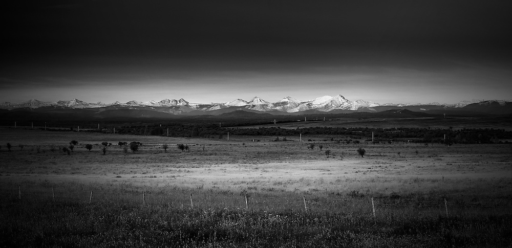 Rocky Mountains sunrise