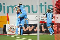 FOOTBALL - FRENCH CHAMPIONSHIP 2010/2011 - L1 - AS NANCY v STADE BRESTOIS - 18/09/2010 - PHOTO GUILLAUME RAMON / DPPI - GOAL MICOLA TOMAS (BREST)