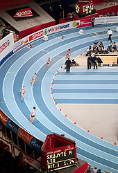 BERCY HALL DURING EUROPEAN ATHLETICS INDOOR CHAMPIONSHIPS PARIS 2011...PARIS , FRANCE , MARCH 04, 2011..( PHOTO BY ADAM NURKIEWICZ / MEDIASPORT )..PICTURE ALSO AVAIBLE IN RAW OR TIFF FORMAT ON SPECIAL REQUEST.
