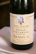 muscat 2002 kirchberg grand cru kientzler ribeauville wistub du sommelier bergheim alsace france