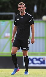 Gavin Gunning of Forest Green Rovers warms up - Mandatory by-line: Nizaam Jones/JMP- 17/07/2018 - FOOTBALL - New Lawn Stadium - Nailsworth, England - Forest Green Rovers v Leeds United - Pre-season friendly