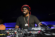 NEW YORK, NEW YORK- FEBRUARY 4: DJ Funk Master Flex spins hip hop classics before THE ROOTS Produced by Jill Newman Productions perform the last show at the current Highline Ballroom on February 4, 2019 in New York City.  (Photo by Terrence Jennings/terrencejennings.com)