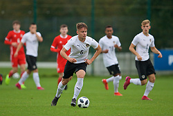 NEWPORT, WALES - Monday, October 14, 2019: Austria's Robert Martic during an Under-19's International Friendly match between Wales and Austria at Dragon Park. (Pic by David Rawcliffe/Propaganda)