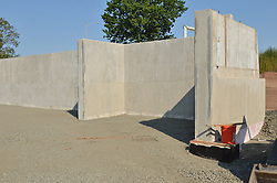 Construction Progress Photograph, Sea Street Salt Storage Facility, New Haven. Progress Documentation Submission 4.