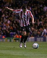 Photo: Steve Bond.<br />Birmingham City v Sunderland. The FA Barclays Premiership. 15/08/2007. Ross Wallace crosses
