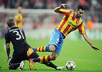 Fotball<br /> Tyskland<br /> 19.09.2012<br /> Foto: Witters/Digitalsport<br /> NORWAY ONLY<br /> <br /> v.l. Bastian Schweinsteiger (Bayern), Adil Rami<br /> <br /> Fussball Champions League, Gruppenphase, FC Bayern München - FC Valencia