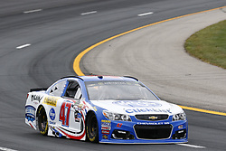 July 14, 2017 - Loudon, NH, United States of America - July 14, 2017 - Loudon, NH, USA: AJ Allmendinger (47) hangs out in the garage during practice for the Overton's 301 at New Hampshire Motor Speedway in Loudon, NH. (Credit Image: © Justin R. Noe Asp Inc/ASP via ZUMA Wire)