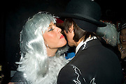 CLAUDIA MACPHERSON AND ANDY WONG, Patti and Andy Wong  host a night of Surrealism to Celebrate the Chinese Year of the Rat. County Hall Gallery and Dali Universe. London. 27 January 2008. -DO NOT ARCHIVE-© Copyright Photograph by Dafydd Jones. 248 Clapham Rd. London SW9 0PZ. Tel 0207 820 0771. www.dafjones.com.