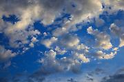 USA, Oregon, Astoria, sky.