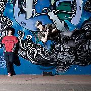 Tokyo street dancers in yoyogi park ,Tokyo