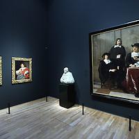 Nederland, Amsterdam , 20 maart 2013..Het gerenoveerde Rijksmuseum gefotografeerd .Op de foto: een zaal met kunst uit de periode 15e eeuw?.Foto:Jean-Pierre Jans