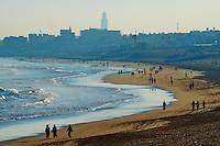 Maroc, Casablanca, plage Ain Diab // Morocco, Casablanca, Ain Diab beach