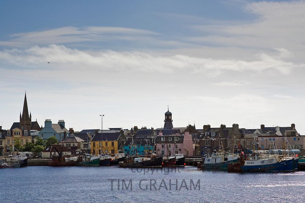 Stornoway harbour, Outer Hebrides, United Kingdom
