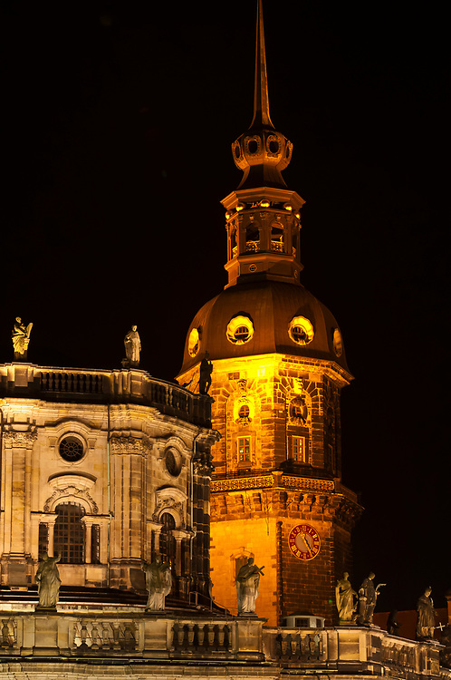 Hausmann Tower, Dresden, Saxony, Germany