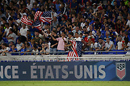 Fan USA goal 0-1 during the 2018 Friendly Game football match between France and USA on June 9, 2018 at Groupama stadium in Decines-Charpieu near Lyon, France - Photo Romain Biard / Isports / ProSportsImages / DPPI