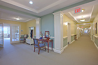 Architectural interior of Brightview Senior Living South River in Edgewater MD
