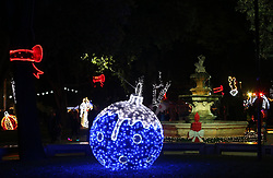 01.12.2018, Split, CRO, Advent in Kroatien, im Bild Beginn des Advents mit Dekoration und Weihnachtsbeleuchtung // Beginning of the Advent with decoration and Christmas lights Split, Croatia on 2018/12/01.12.2018. EXPA Pictures © 2018, PhotoCredit: EXPA/ Pixsell/ Ivo Cagalj<br /> <br /> *****ATTENTION - for AUT, SLO, SUI, SWE, ITA, FRA only*****