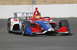September 14, 2018 - Sonoma, CA, U.S. - SONOMA, CA - SEPTEMBER 14: Matheus Leist is seen during the afternoon Verizon IndyCar Series practice for the Grand Prix of Sonoma on September 14, 2018, at Sonoma Raceway in Sonoma, CA. (Photo by Larry Placido/Icon Sportswire) (Credit Image: © Larry Placido/Icon SMI via ZUMA Press)