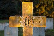 Victorian nineteenth century grave headstone, Suffolk, England, Uk