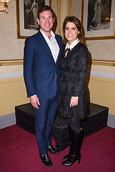 EMBARGOED TO 1700 THURSDAY APRIL 15 File photo dated 19/03/18 of Princess Eugenie and her husband Jack Brooksbank who are two of the 30 members of the royal family who will be in attendance at the Duke of Edinburgh's funeral at Windsor Castle on Saturday. Issue date: Thursday April 15, 2021.