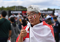 Rugby Union - 2019 Rugby World Cup - Quarter-Final: England vs. Australia<br /> <br /> A local England fan, at Oita Stadium, Oita Prefecture.<br /> <br /> COLORSPORT/ASHLEY WESTERN