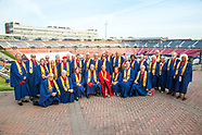 Golden Mustangs at Commencement