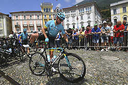 June 15, 2017 - Locarno / La Punt, Suisse - GATTO Oscar of Astana Pro Team during stage 6 of the Tour de Suisse cycling race, a stage of 166 kms between Locarno and La Punt on June 15, 2017 in La Punt, Switserland, 15/06/2017 (Credit Image: © Panoramic via ZUMA Press)
