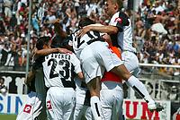 Paolo Nucci / Lapresse<br />21-05-2005<br />Sport Calcio<br />Empoli Genoa campionato serie b 2004 2005<br />Nella foto Esultanza dedlla squadra dopo il gol