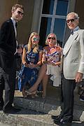 OLIVER BOLTON; FIONA BRATTLE; SARAH BOLTON; TONY BOLTON, Opening of Grange Park Opera, Fiddler on the Roof, Grange Park Opera, Bishop's Sutton, <br /> Alresford, 4 June 2015