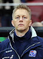 Uefa - World Cup Fifa Russia 2018 Qualifier / <br /> Iceland National Team - Preview Set - <br /> Heimir Hallgrimsson - DT Iceland National Team