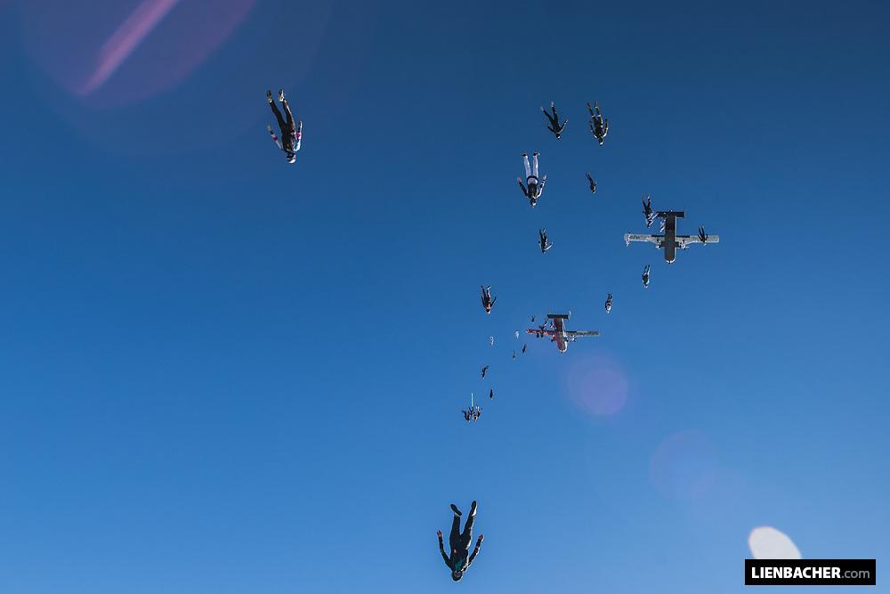 German Vertical Skydiving Record 2018 - Day 3, 2018-10-05, Zweibrücken/Germany