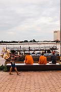 Preah Sisowath Quay along the Tonle Sap River, Phnom Penh