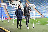 Oliver Hawkins (9) of Portsmouth arrives ahead of the EFL Sky Bet League 1 match between Portsmouth and Ipswich Town at Fratton Park, Portsmouth, England on 21 December 2019.