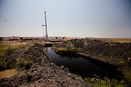 An exploratory oil rig in Upper Nile State, Southern Sudan's most productive oil area.