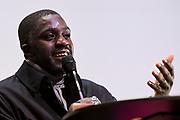 Brussels , 08/01/2020<br /> Press conference Les Magritte Du Cinéma<br /> Pix :  Kody Seti Kimbulu<br /> Credit : Frederic Sierakowski / Isopix