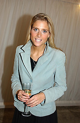 MISS NATALIE HICKS-LOBBECKE at a party hosted by Bentley motorcars held at The Orangery, Kensington Palace, London on 3rd November 2004.<br /><br />NON EXCLUSIVE - WORLD RIGHTS