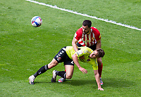 Football - 2020 / 2021 Sky Bet League One - Sunderland vs Northampton Town - Stadium of Light<br /> <br /> Danny Rose of Northampton Town vies with Tom Flanagan of Sunderland<br /> <br /> Credit : COLORSPORT/BRUCE WHITE