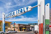 Little Italy Neighborhood in Downtown San Diego