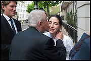 JUAN MARI ARZAK; ELENA ARZAK, Veuve Clicquot World's Best Female chef champagne tea party. Halkin Hotel. Halkin St. London SW1. 28 April 2014.