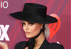 The 2019 iHeartRadio Music Awards - Arrivals at The Microsoft Theatre in , California on 3/14/19. 14 Mar 2019 Pictured: Bebe Rexha. Photo credit: River / MEGA TheMegaAgency.com +1 888 505 6342