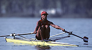Estany Banyoles. Barcelona, SPAIN. NED W1X. Irene EIJS. 1992 Olympic Games - Barcelona  [Mandatory Credit: Peter Spurrier:Intersport Images]