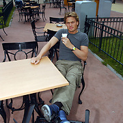 Acteurs bezoeken Six Flags Biddinghuizen, Winston Post