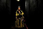 Abril y Mayo 2011/Bolivia<br /> Carmen Rosa La Luchadora Posa en un Túnel en la zona Sur de La Paz Bolivia<br /> <br /> Fotos:Juan Gonzalez