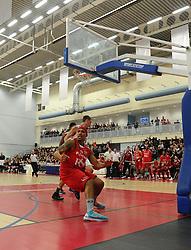 Bristol Flyers' Greg Streete scores   - Photo mandatory by-line: Joe Meredith/JMP - Mobile: 07966 386802 - 21/11/2014 - Sport - Basketball - Bristol - SGS Wise Campus - Bristol Flyers v Surrey United - British Basketball League