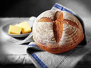 Loaf of English Rye bread